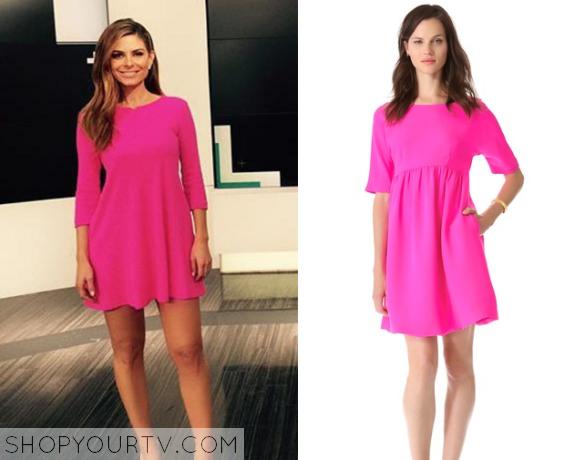 maria pink dress