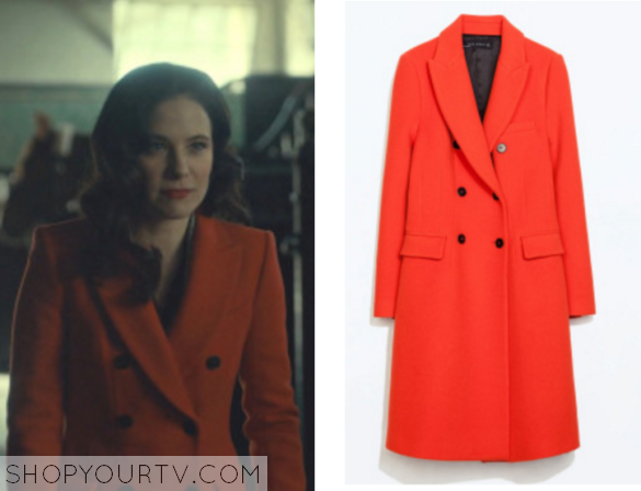 Hannibal: Season 3 Episode 4 Alana's Red Coat |