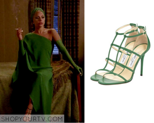 the countess green shoes