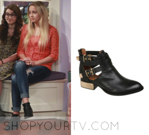 Girl Meets World: Season 2 Episode 26 Darby's Cut out Boots