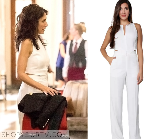 abby white jumpsuit