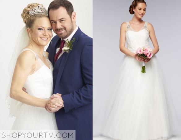 Eastenders wedding dress