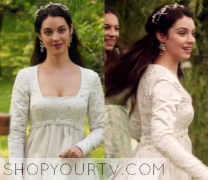 Reign: Season 3 Episode 1 Mary's White Gown