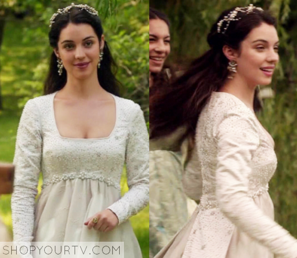 Reign Season 3 Episode 1 Mary S White Gown Shop Your Tv