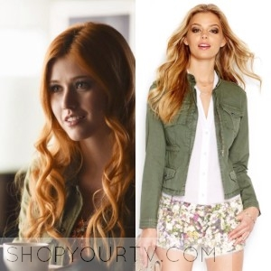 Shadowhunters: Season 1 Episode 1 Clary's Green Jacket