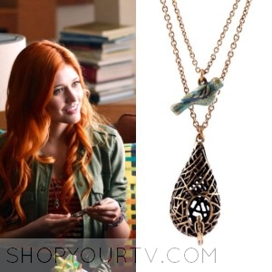 Shadowhunters: Season 1 episode 1 Clary's Birds Nest Necklace