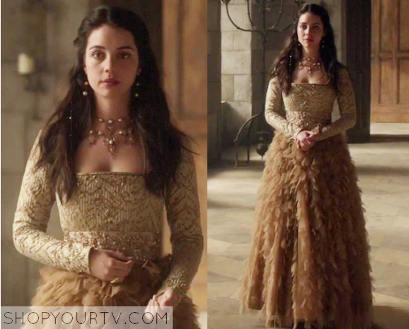 mary queen of scots fashion clothes style and wardrobe worn on tv