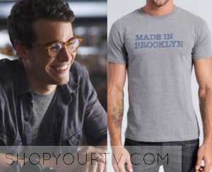 Shadowhunters: Season 1 Episode 1 Simon's Made in Brooklyn Tee
