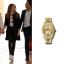 ashley tisdale gold watch