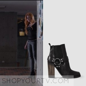 Shadowhunters: Season 1 Episode 1 Clary's Buckled Ankle Boots