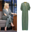 kate hudson green jumpsuit