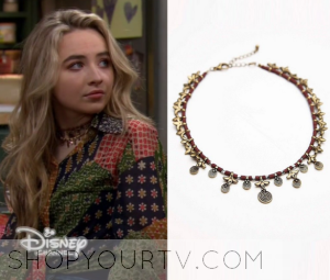 Girl Meets World: Season 2 Episode 30 Maya's Embellished Necklace