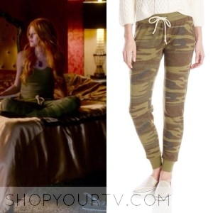 SHADOWHUNTERS: SEASON 1 EPISODE 4 CLARY'S CAMOUFLAGE PANTS