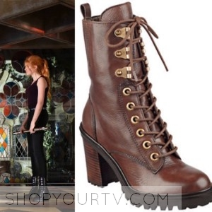 Shadowhunters: Season 1 Episode 5 Clary's Lace up Boots