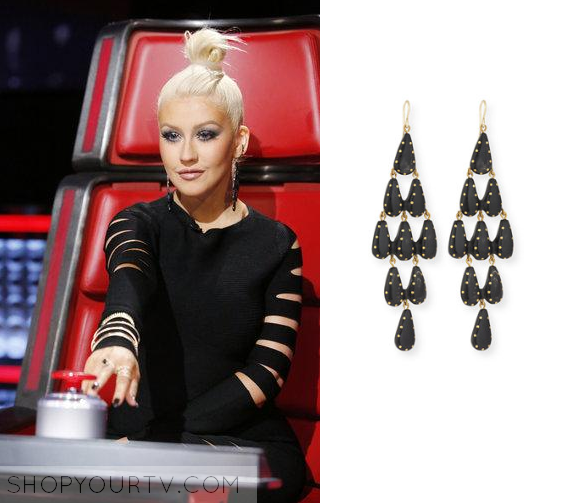 Shop Your TV: The Voice: Season 10 Episode 7 Christina\'s Black ...