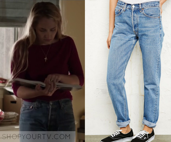 Girls: Season 5 Episode 4 Jessa's High Waisted Jeans | Shop Your TV