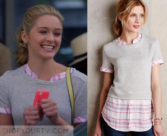 Shop Your TV: Awkward: Season 5 Episode 14 Lissa's Grey Sweater ...