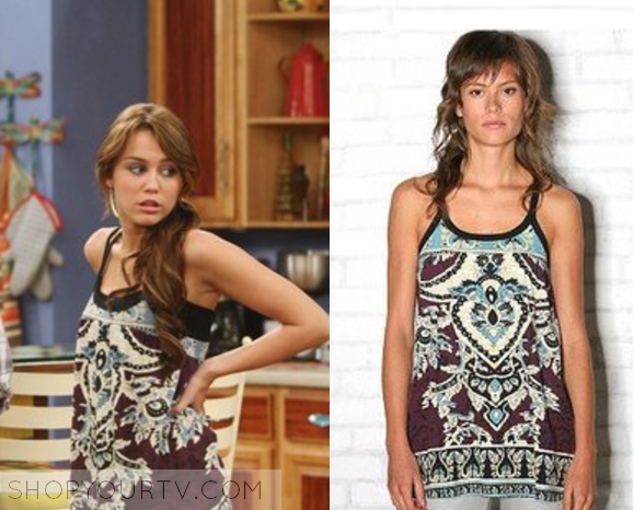 . Miley Stewart Fashion  Clothes  Style and Wardrobe worn on TV Shows
