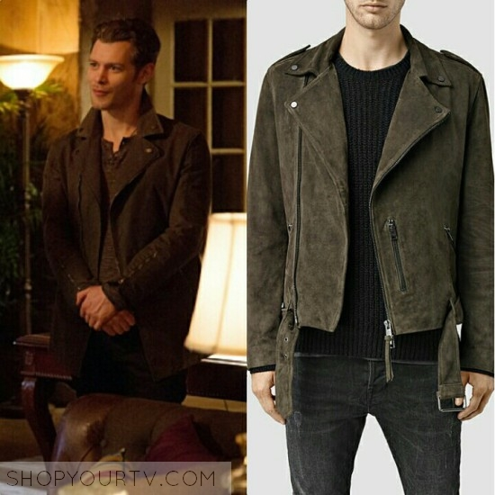Klaus Mikaelson Fashion, Clothes, Style and Wardrobe worn on