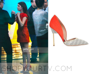 Good Morning America: April 2016 Anna Kendrick's Nude/Red Pumps