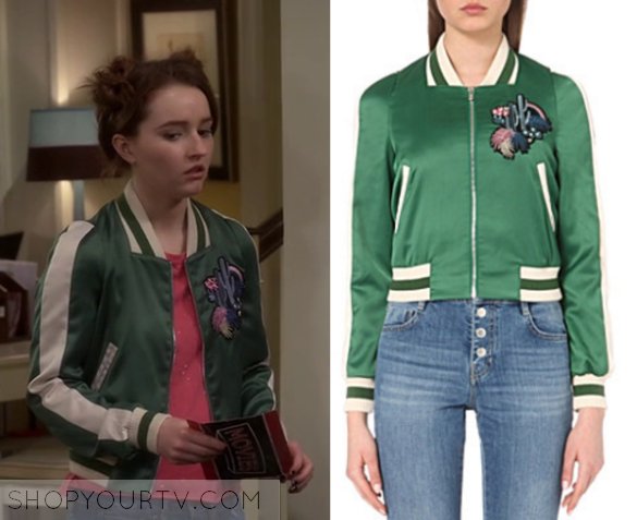 dcc239c79 Last Man Standing: Season 5 Episode 22 Eve's Green Bomber Jacket ...