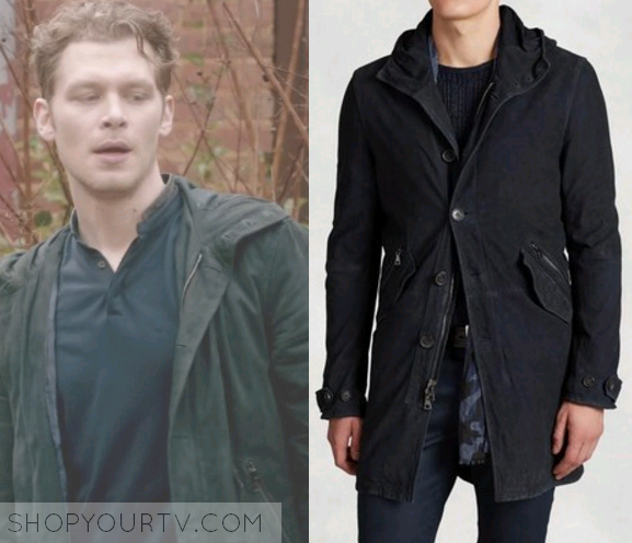 Klaus mikaelson fashion, clothes, style and wardrobe worn on tv.
