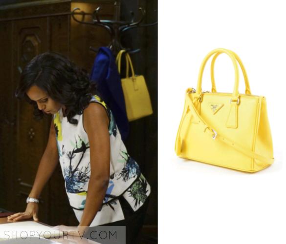 882cbba5258b Scandal  Season 5 Episode 16 Olivia s Yellow Tote Bag