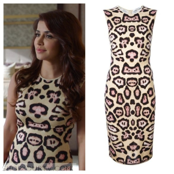 givenchy leopard dress