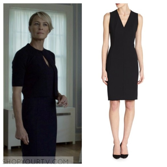 akris punto black dress