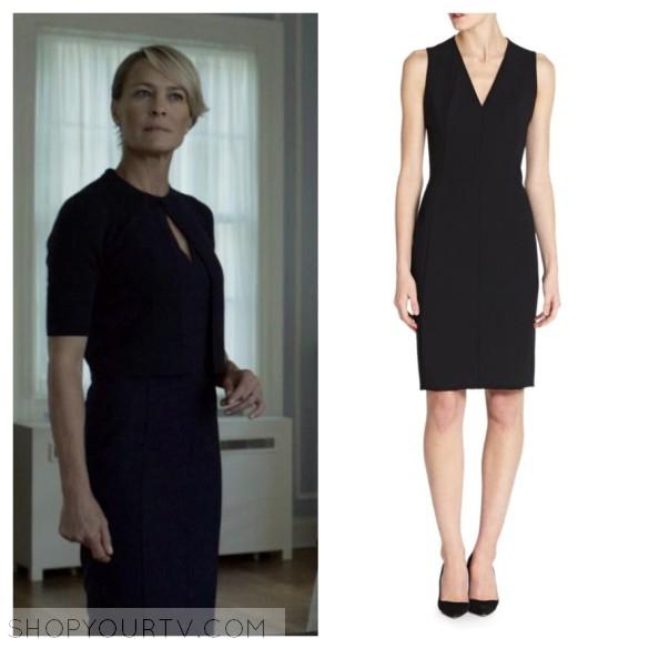 akris punto black dress