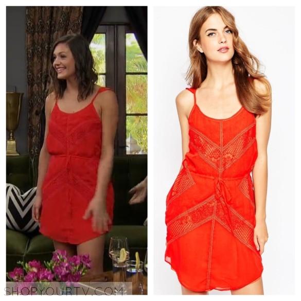 adelyn rae red dress