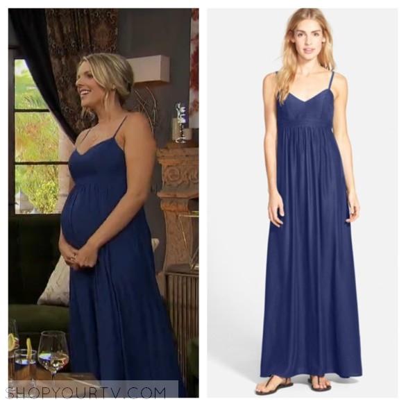 felicity & coco blue maxi dress