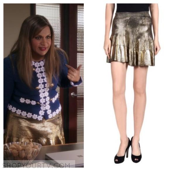 Ohne Titel gold skirt