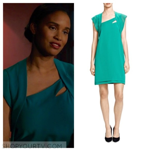 the kooples green dress