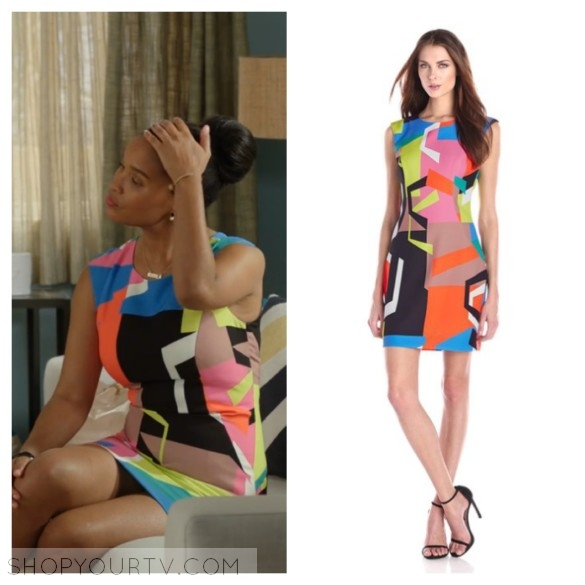 milly multicolor graphic print dress