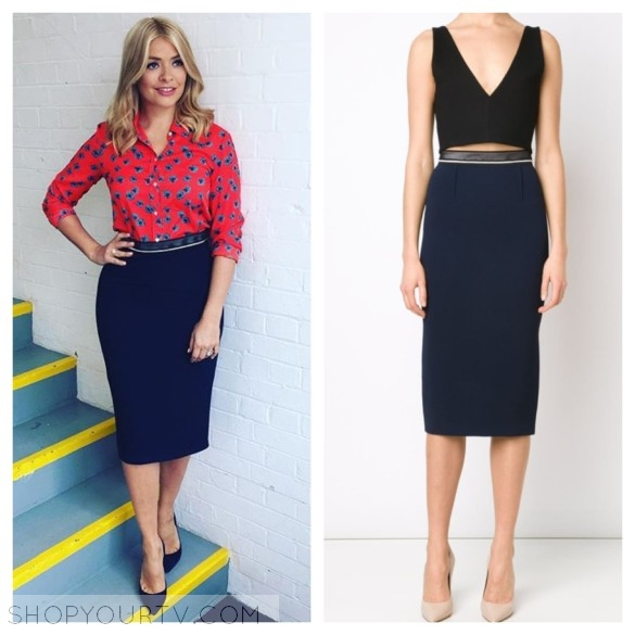 This Morning: May 2016 Holly's Navy Blue Pencil Skirt | My Site