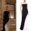 jacqueline black white dress