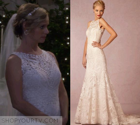 Fuller House Season 1 Episode 13 Kimmy S White Lace Wedding Dress