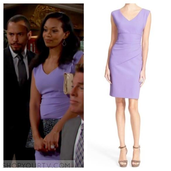 dvf bevin lavender purple dress