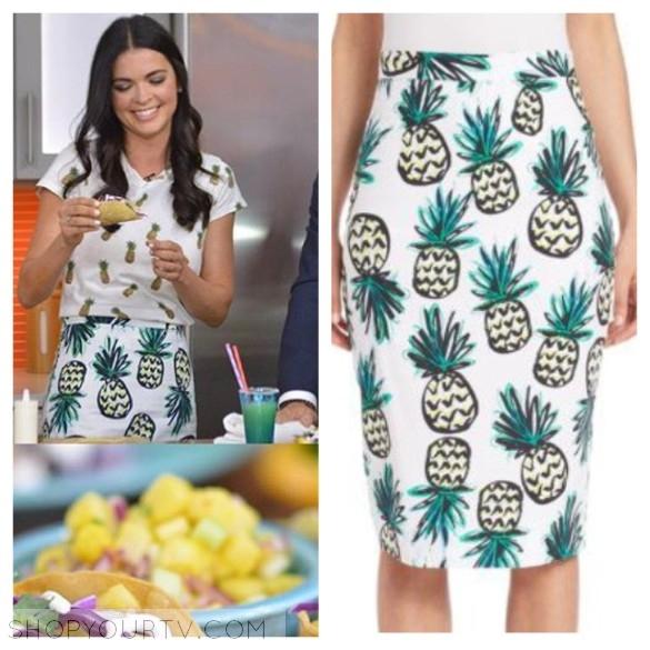 milly pineapple skirt