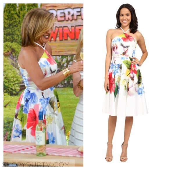The Today Show June 2016 Hoda S Floral Halter Fit And