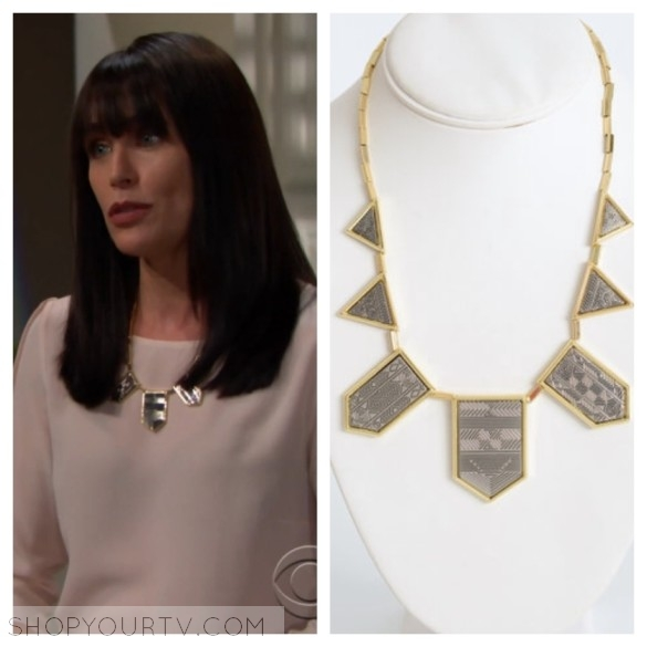 house of harlow pyramid station necklace