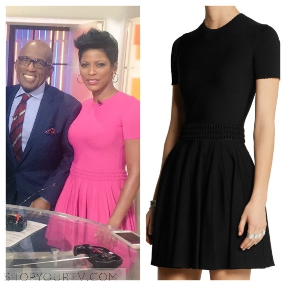 tamron hall fashion the today show dress