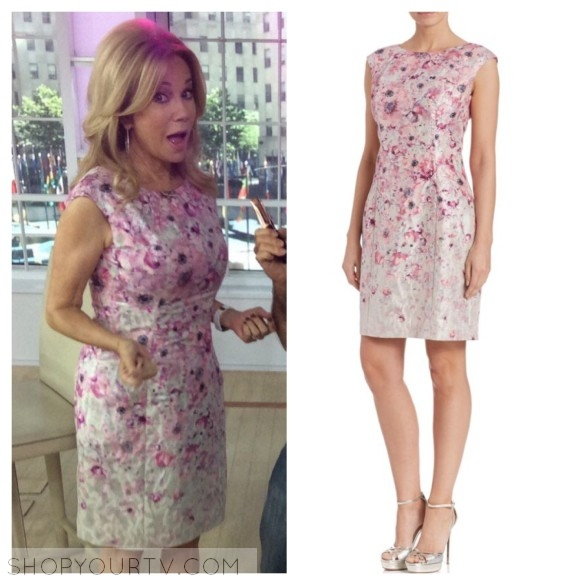 kathy lee gifford pink floral dress the today show