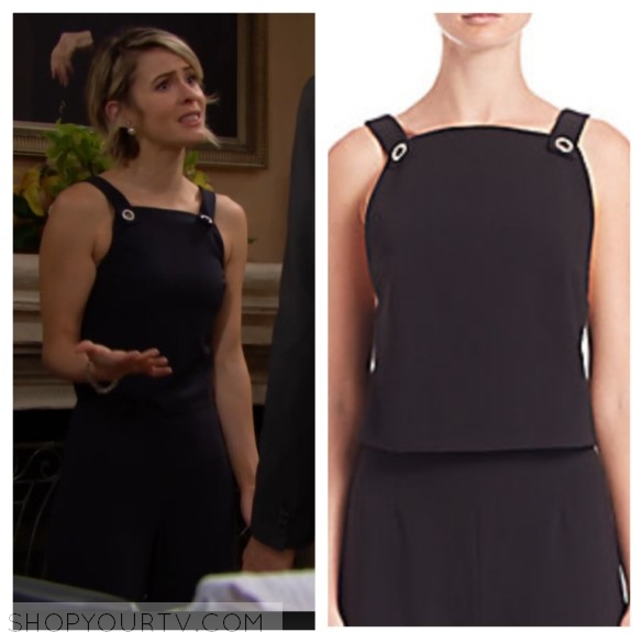 caroline spencer fashion style wardrobe outfit clothes the bold and the beautiful
