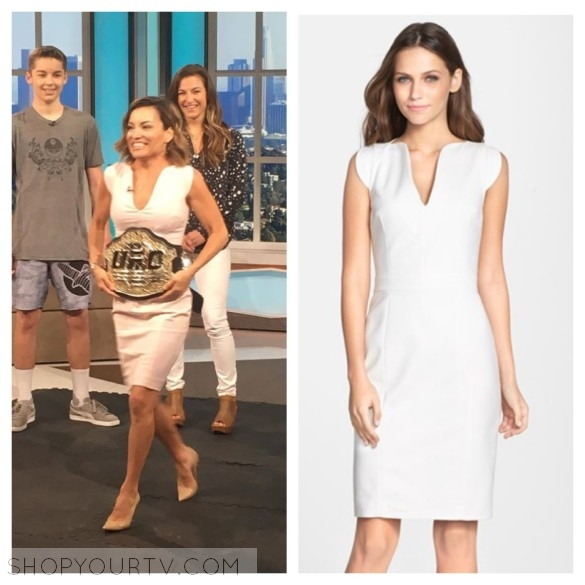 kit hoover white dress access hollywood