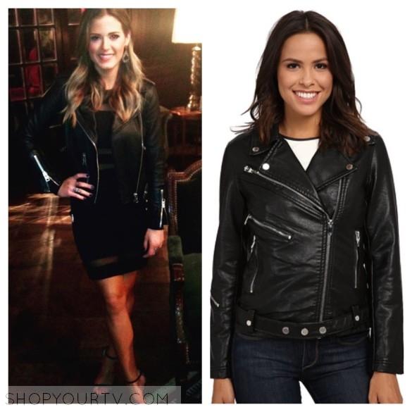 jojo fletcher black leather jacket the bachelorette