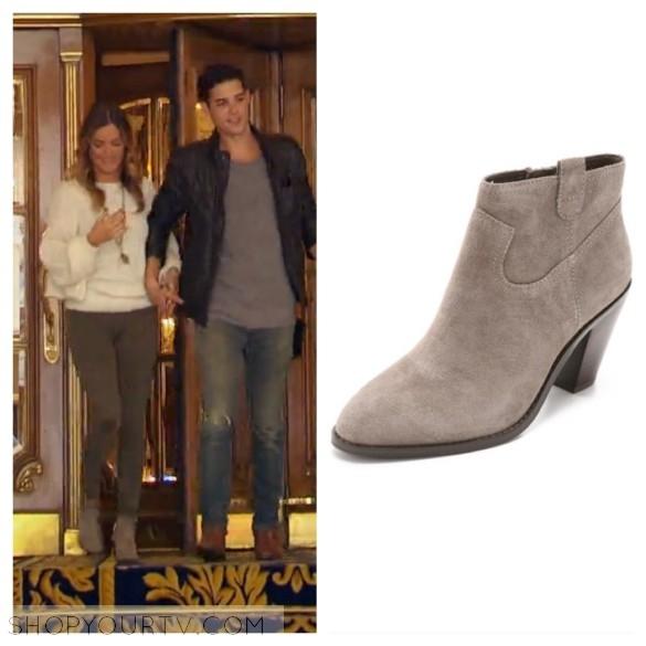 jojo fletcher grey suede boots the bachelorette