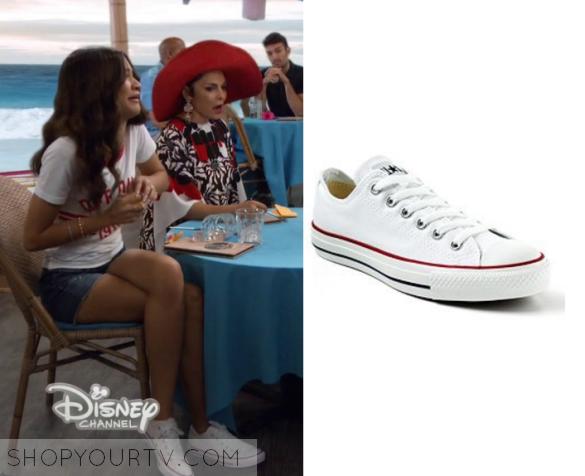 K C  Undercover: Season 2 Episode 4 K C 's White Sneakers   Shop Your TV