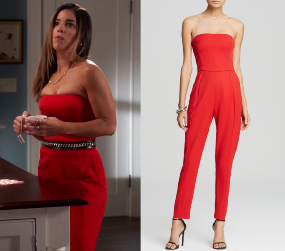 Devious Maids: Season 4 Episode 8 Marisol's Red Sleeveless ...
